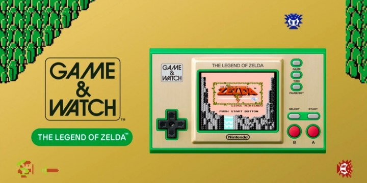 Newsbild zu Game & Watch: The Legend of Zelda – Neuer Trailer bewirbt den kommenden Retro-Handheld