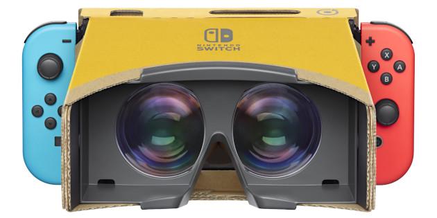 Newsbild zu Nintendo meldet Patent für eine Nintendo Switch-VR-Brille an
