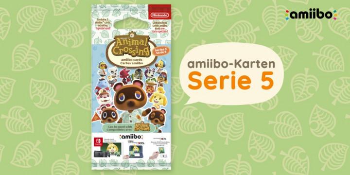 Newsbild zu Jetzt vorbestellen: Serie 5 der amiibo-Karten zu Animal Crossing