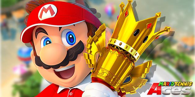 """Newsbild zu Mario Tennis Aces: Die Gewinner des """"Stay at Home Slams"""" stehen fest"""