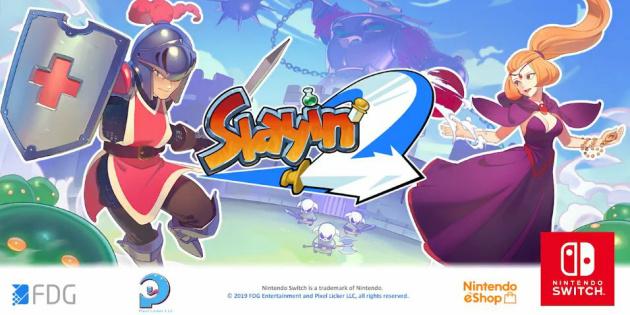 Newsbild zu Slayin 2 erscheint nächste Woche exklusiv für die Nintendo Switch