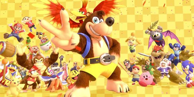 Newsbild zu Banjo und Kazooie ab heute in Super Smash Bros. Ultimate spielbar – Details zu weiteren Inhalten aus Version 5.0