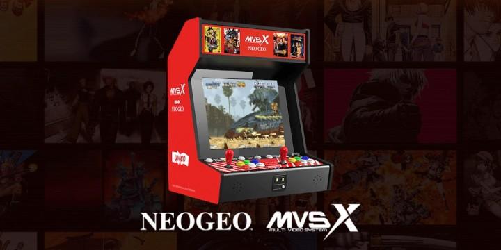Newsbild zu Retro-Feeling vom Feinsten: SNK Neo Geo MVSX Arcade-Automat mit 50 Spielen angekündigt