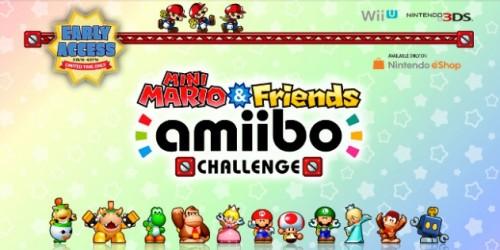 Newsbild zu Kostenloser Puzzler für alle amiibo-Fans: Mini Mario & Friends amiibo Challenge erscheint am 28. April im Nintendo eShop [PM]