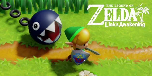 Newsbild zu Zelda: Link's Awakening – Nintendo präsentiert weitere Gebiete, Charaktere und erste Gegenstände