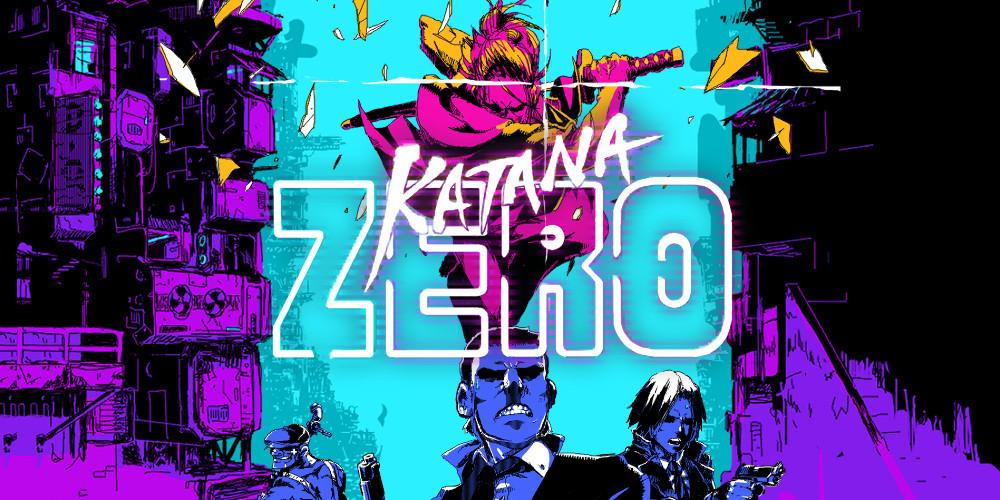 Katana ZERO - Keyart