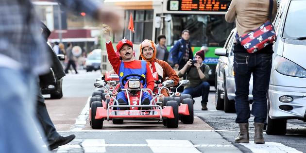 Newsbild zu Ausgerast – Veranstalter der inoffiziellen Mario Kart-Go-Kart-Rennen in Japan muss hohe Strafe an Nintendo zahlen