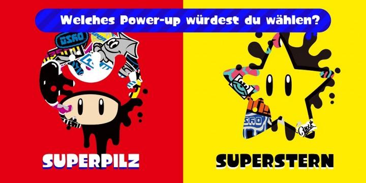 Newsbild zu Splatoon 2: Merchandise zum kommenden Super Mario-Splatfest ab sofort im My Nintendo Store verfügbar