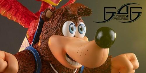 Newsbild zu First 4 Figures stellt hochwertige Banjo-Kazooie-Figur vor