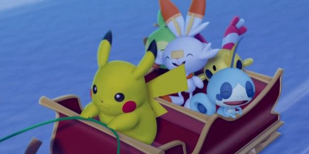 Newsbild zu Zeit für Weihnachtsstimmung: Pokémon-Musikvideo zu Jingle Bells erschienen