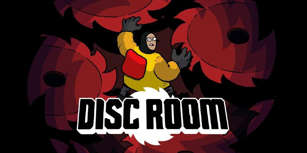 Disc Room - Keyart