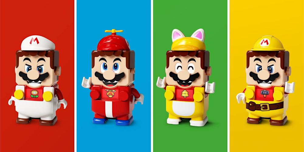 LEGO Super Mario - Power-ups