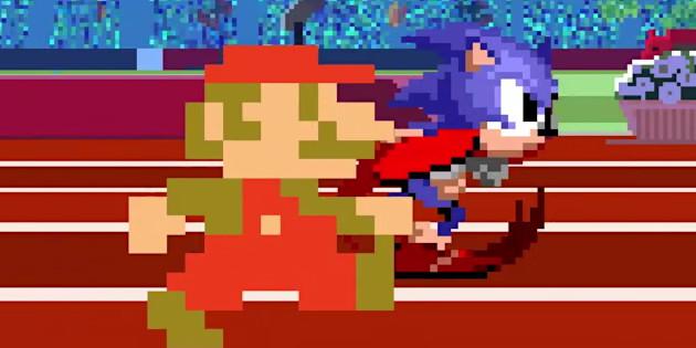 Newsbild zu gamescom 2019 // Olympia im Retro-Fieber: Neuer Trailer und weitere Gameplay-Szenen zu Mario & Sonic bei den Olympischen Spielen: Tokyo 2020 veröffentlicht