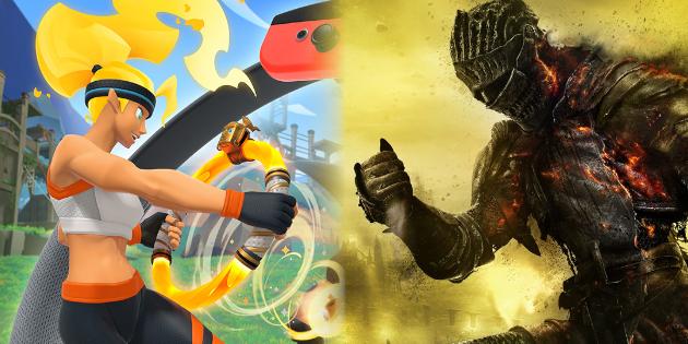 Newsbild zu Spieler nutzt Ring Fit Adventure-Controller, um Dark Souls III zu spielen