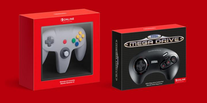Newsbild zu Drahtlose Nintendo 64- und SEGA Mega Drive-Controller kommen mit zusätzlichen Tasten für Nintendo Switch-Bedienung