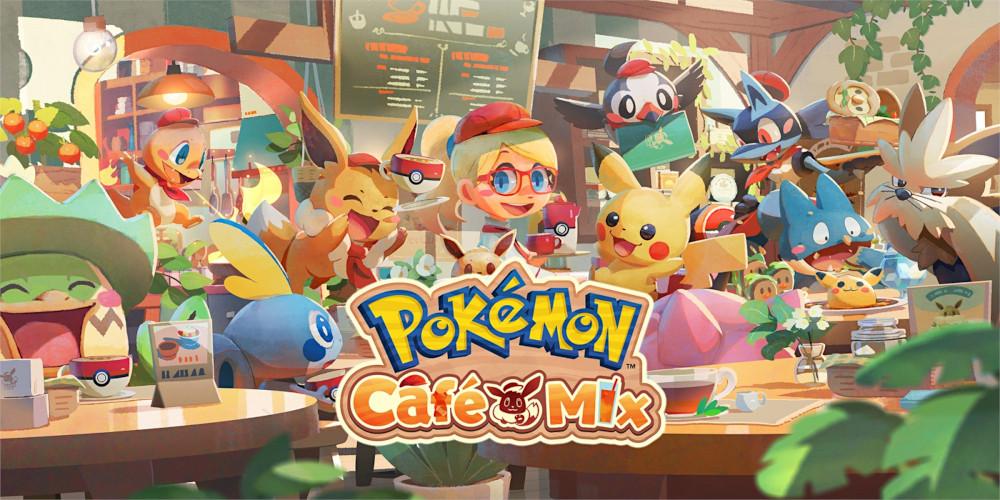 Pokémon Café Mix - Keyart