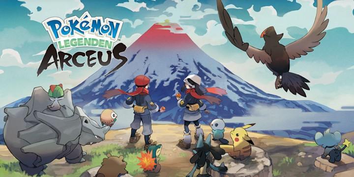 Newsbild zu Pokémon-Legenden: Arceus – Weitere Bilder des SteelBooks zum Abenteuer veröffentlicht