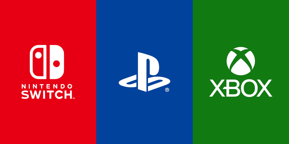 Nintendo Switch, PlayStation, Xbox