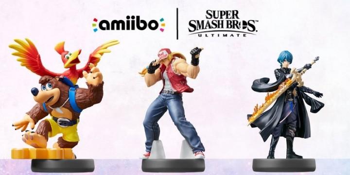 Newsbild zu Jetzt auch bei MediaMarkt vorbestellbar: amiibo-Figuren von Banjo & Kazooie, Terry und Byleth