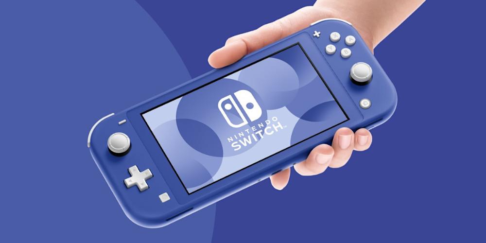 Nintendo Switch Lite - Blau