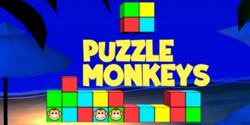 Newsbild zu Wii U eShop-Spieletest: Puzzle Monkeys