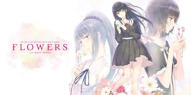Newsbild zu Vier Visual Novels auf einer Softwarekarte vereint: Seht euch einen Trailer zu Flowers: Les Quatre Saisons an