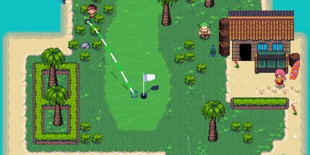 Einlochen mal anders: Golf Story für Nintendo Switch angekündigt