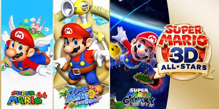 Newsbild zu Sichert euch drei Super Mario 3D All-Stars-Poster für Platinpunkte bei My Nintendo