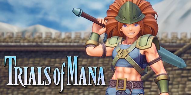 Newsbild zu Trials of Mana wird im April 2020 für die Nintendo Switch erscheinen