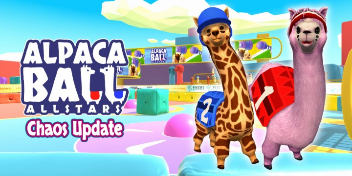 Newsbild zu Alpaca Ball: Allstars – Chaos-Update bringt ab sofort riesige Hindernisse in die Arena