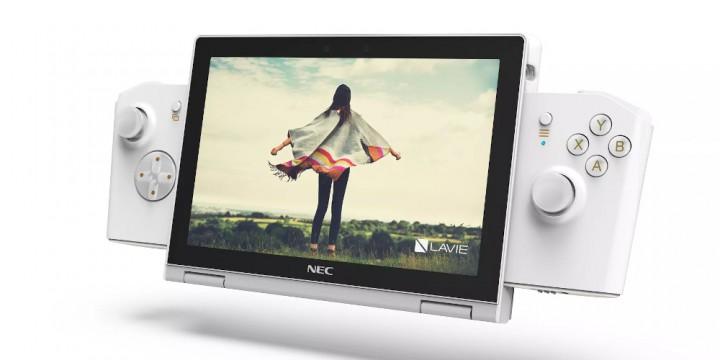 Newsbild zu Nintendo Switch als Inspirationsquelle? – Lenovo und NEC stellen LaVie Mini auf der CES vor