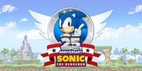 Newsbild zu Sega gibt Sonic the Hedgehog 25th Anniversary Logo bekannt
