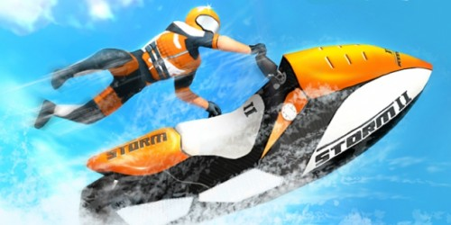 Newsbild zu 3DS eShop-Spieletest: Aqua Moto Racing 3D