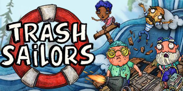 Newsbild zu Alle Mann an Deck: Trash Sailors fährt schon bald auf der Nintendo Switch ein