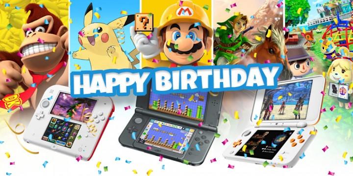 Newsbild zu Der Nintendo 3DS feiert heute Geburtstag – Zum 10-jährigen Bestehen alles Gute!