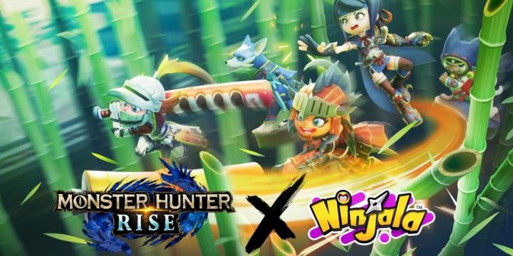 Newsbild zu GungHo kündigt Kollaboration zwischen Ninjala und Monster Hunter Rise an