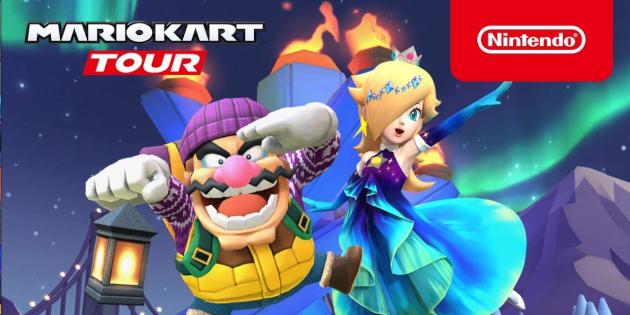 Newsbild zu Mario Kart Tour leuchtet ab sofort in den Farben des Nordlichts