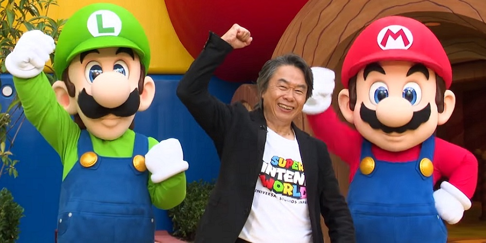 Shigeru Miyamoto Super Nintendo World