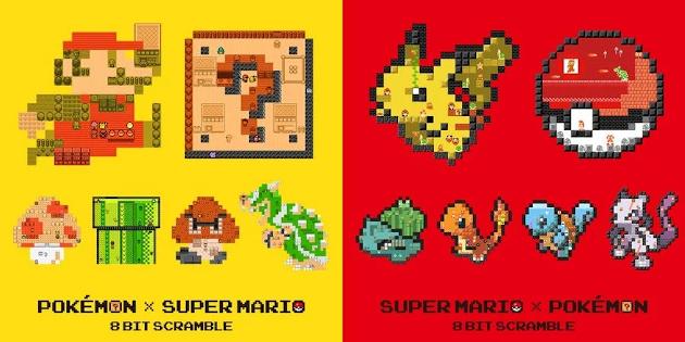 Newsbild zu Japan: Nintendo veröffentlicht Crossover-Fanartikel zu Super Mario und Pokémon