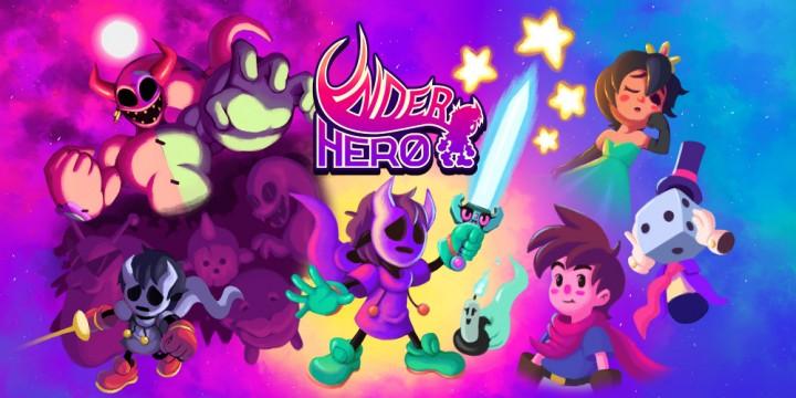 Newsbild zu UnderHero erhält bei First Press Games eine physische Veröffentlichung