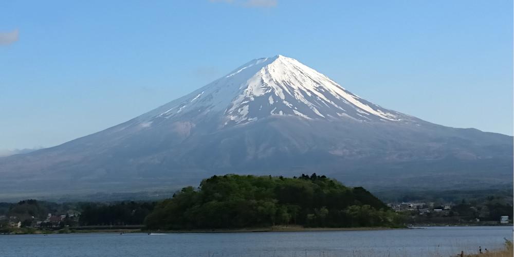 Fuji-Berg für Japan-Charts