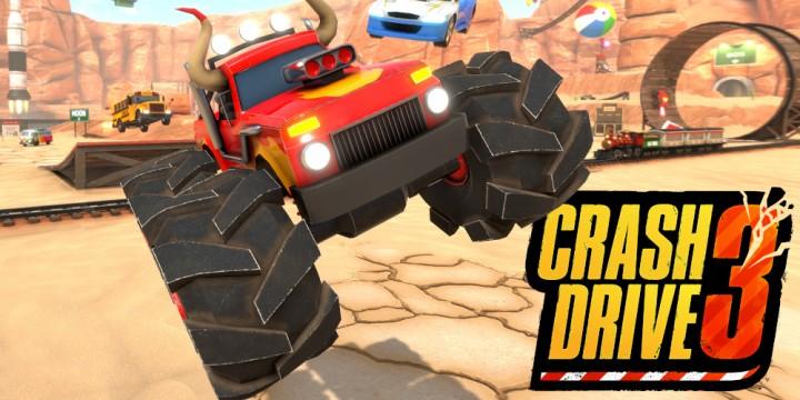 Newsbild zu Crash Drive 3 im Test – Rennen fahren ist nur zweitrangig