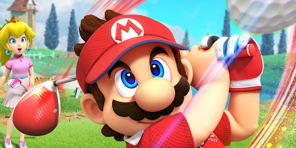 Mario Golf: Super Rush - Mario