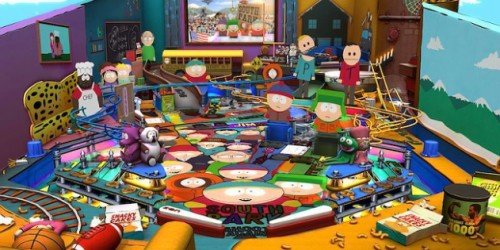 Newsbild zu Neues Gameplay-Video zum South Park-Tisch aus Zen Pinball 2 erschienen