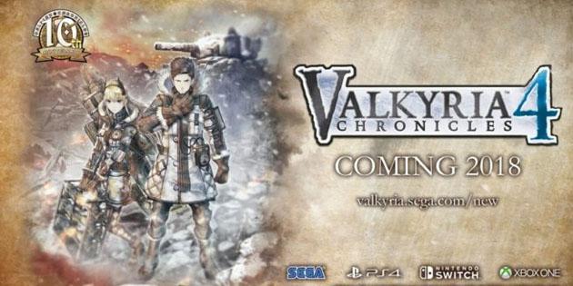 Valkyria Chronicles 4: Offiziell für einen Release im Jahr 2018 angekündigt