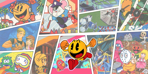 Newsbild zu Volle Retro-Power: Die Spielesammlungen Namco Museum Archives Vol. 1 und 2 werden Ende Juni im Westen veröffentlicht