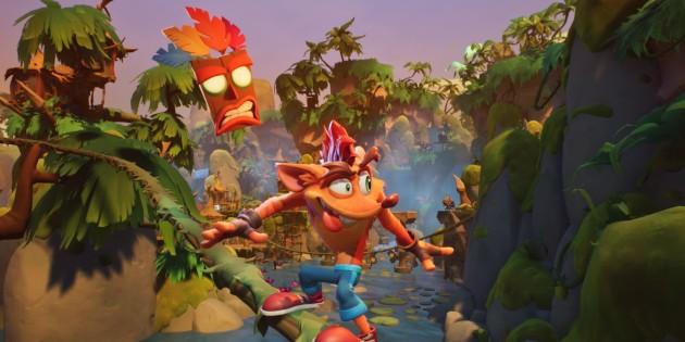 Newsbild zu Crash Bandicoot 4: It's About Time offiziell für PlayStation 4 und Xbox One angekündigt