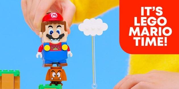Newsbild zu Neues Video zeigt das LEGO Super Mario-Set in Aktion
