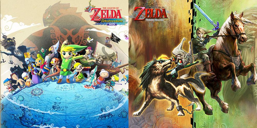 The Legend of Zelda: The Wind Waker + Twilight Princess