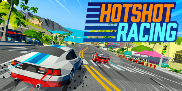 Newsbild zu Hotshot Racing rast diesen Frühling auf die Nintendo Switch